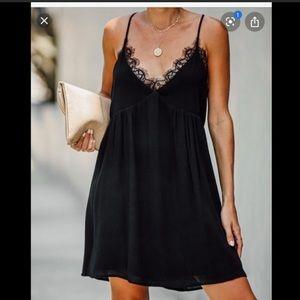 VICI Rosaleigh Lace babydoll dress